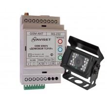"""GSM модуль Naviset """"ДОМОВОЙ"""" IP DIN 3G + фотокамера"""