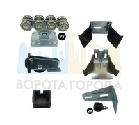 Alutech комплект фурнитуры для откатных ворот SGN-01-150 без балки