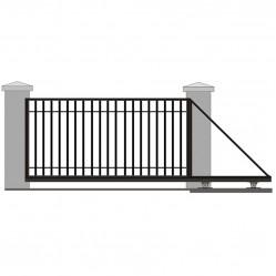 Ворота откатные решетчатые 4500х2000 мм