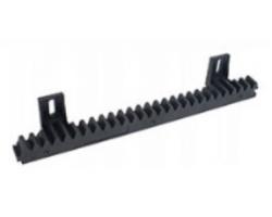 Нейлоновая зубчатая рейка с металлической вставкой модуль M4 25х20х1000 мм, для ворот до 500 кг,  ROA6