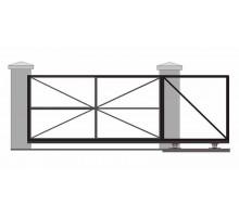 Ворота откатные без облицовки 3000х2000 мм