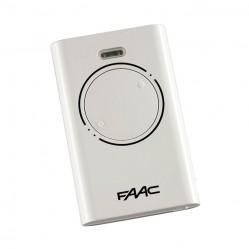 Пульт Faac XT2 SLH LR белый для ворот и шлагбаумов 787009