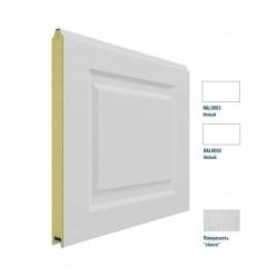 Панель 575мм Нфиленка230/Нстукко белая(RAL9003)/белая(RAL9003)