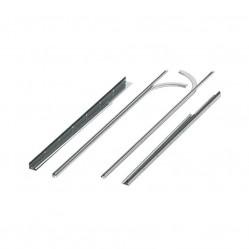 Комплект направляющих и угловых стоек №7 для ворот RSD01 под проем 3000мм (R7 AK)