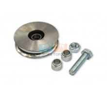 Came WO 1024 - колесо с 1 подшипником, полукруглое сеч-е, D-100, до 300 кг (арт. 1700030)