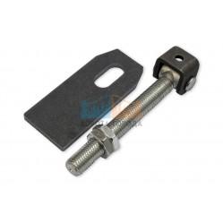 Came HL 24 G - петля регулируемая с пластиной крепления, 45-150 мм, М24 (арт. 1700188)