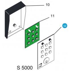 CAME Передняя панель S5000 119RIR175