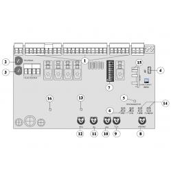 CAME Плата блока управления ZBX-E24 3199ZBX-E24