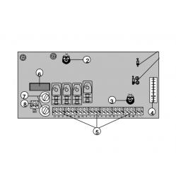 CAME Плата блока управления ZC2 3199ZC2