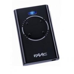 Пульт Faac XT4 868 SLH LR черный для ворот и шлагбаумов 7870101
