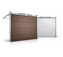 Гаражные секционные ворота серии Alutech Prestige 1750x2250
