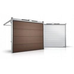 Гаражные секционные ворота серии Alutech Prestige 5250x1750