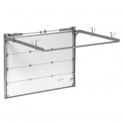 Гаражные секционные ворота Alutech Trend 3500х2875 мм